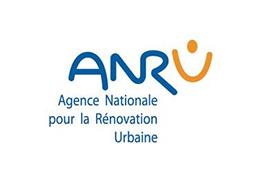 L'ANRU (Agence Nationale pour la Rénovation Urbaine) nous soutient depuis le lancement du programme en 2015.