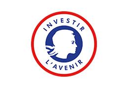 Voici le logo d'Investir l'Avenir. Ce programme nous soutient financièrement depuis 2015